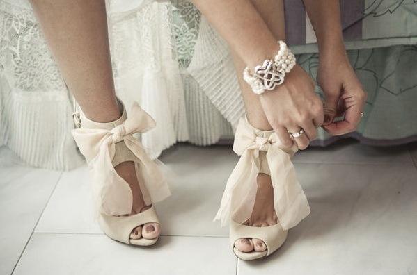 Свадебные сапоги на платформе