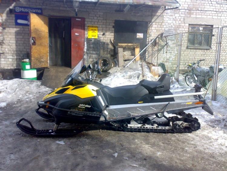 Ремонт снегохода скандик 550