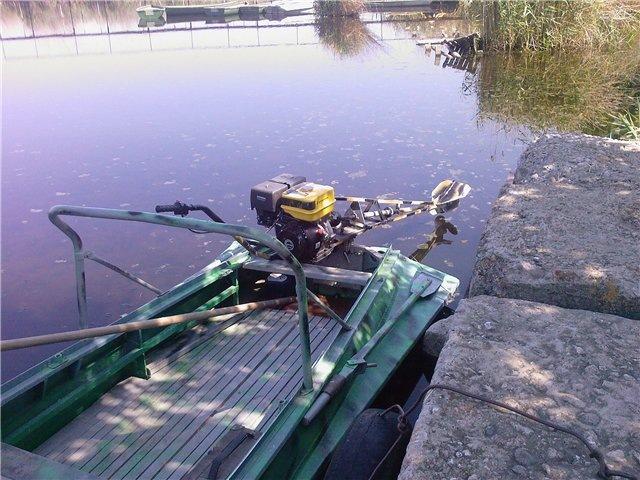 лодочные моторы приспособления для езды по мелководью