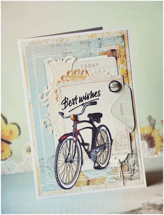 Велосипед поздравление с днем рождения 80