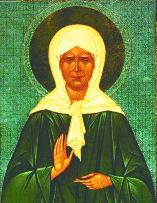 Святая Матушка Матрона.  Прошу тебя всем сердцем и душою, помолись перед Господом нашим Иисусом Христом за раба...