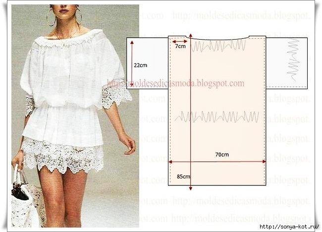 Платье из шитья своими руками
