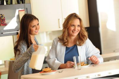 Нина и ее мама для Got Milk Campaign