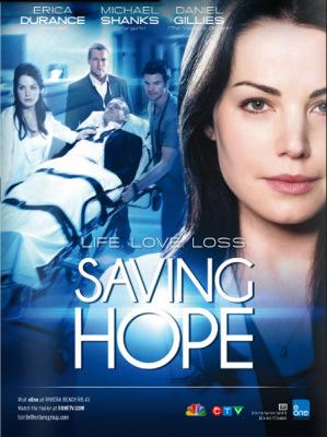 "Постер и промо к сериалу ""Saving Hope"" с Деном"