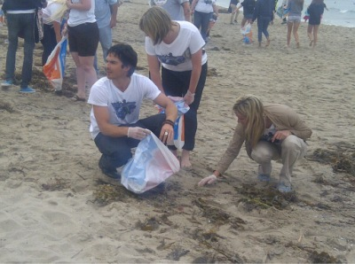 ISF Get Dirty Campaign