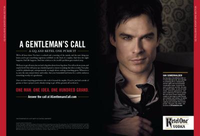 Йен для июньского номера GQ Magazine