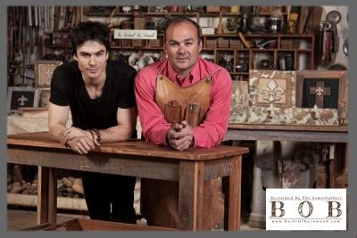 Боб и Йен Сомерхалдеры открыли свою мастерскую