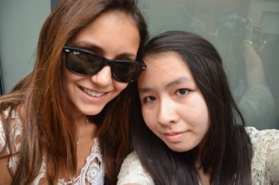 Йен и Нина в Париже