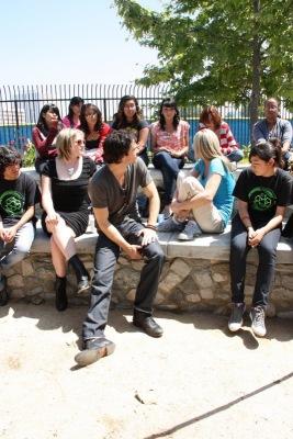 Compton High School Visit [20 апреля]