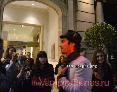 Йен и Нина в Барселоне и на MET Gala Afterparty