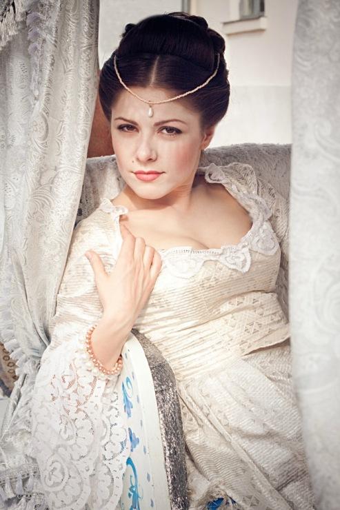 Прически 19 века своими руками фото