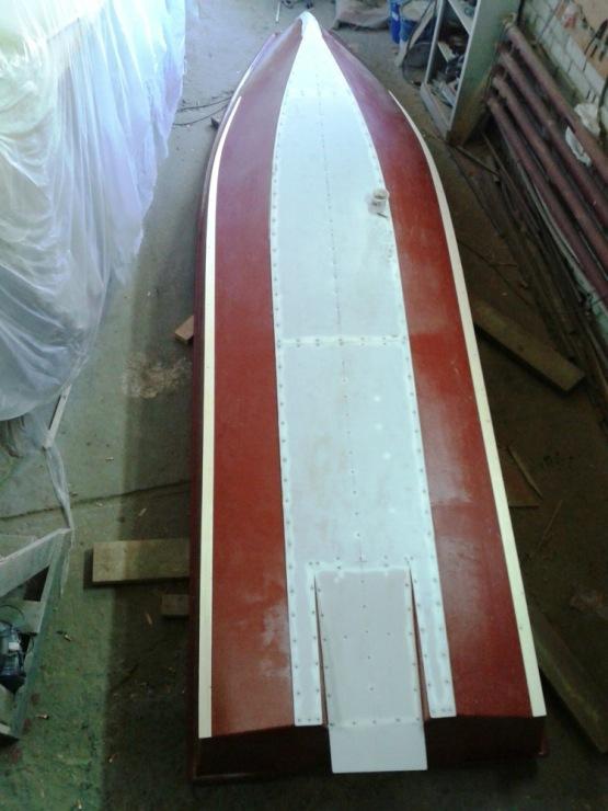 лодки своими руками с тоннелем