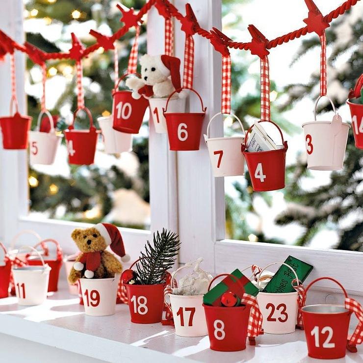 Календарь ожидания нового года своими руками фото