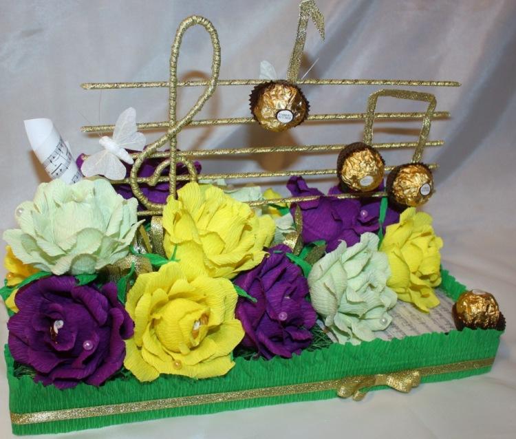 Подарки из конфет своими руками на день рождения