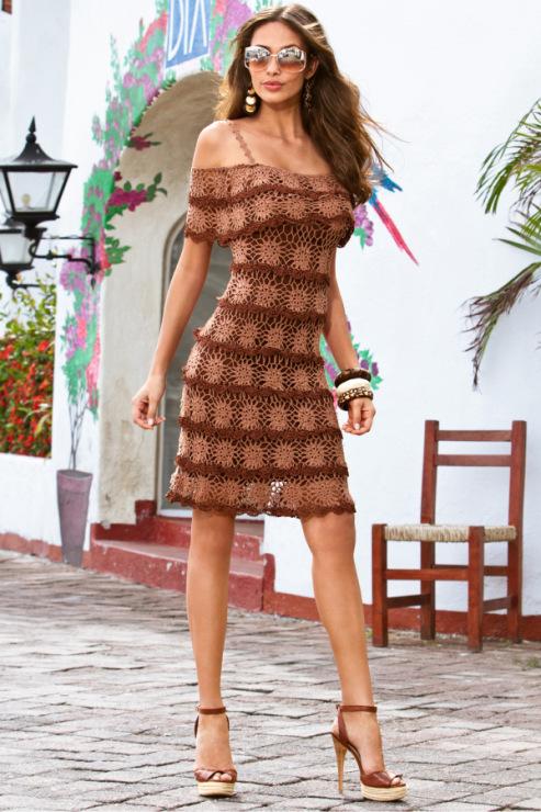 钩针:波士顿的礼服裙 - maomao - 我随心动