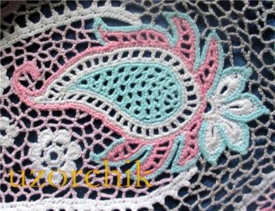 Вязание крючком турецкий мотив