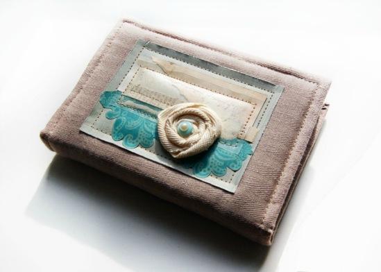 Блокнот ручной работы из готового ежедневника можно заказать и купить в Минске
