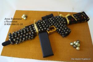 Ружье своими руками из конфет