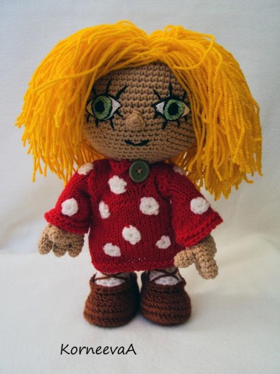 Кузя домовенок кукла мастер класс