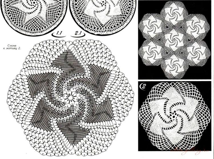 六边形花图解 - 柳芯飘雪 - 柳芯飘雪的博客