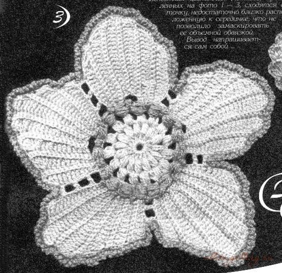 爱尔兰花边花型  3:密集的颜色... - maomao - 我随心动