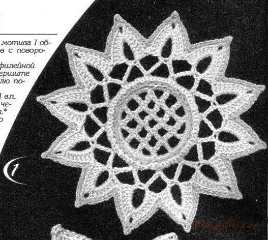 爱尔兰花边花型  2:量元素与花 - maomao - 我随心动