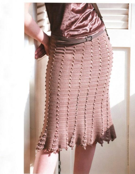 Вязаные юбки удобны и практичны, они способны подчеркнуть... юбка. юбки. плиссе. 2013. 2014. осень-зима