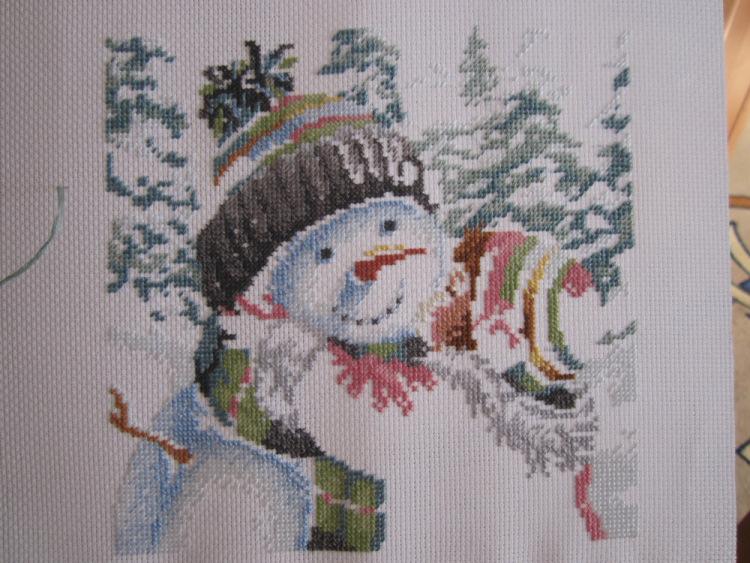 Gallery.ru / Фото #1 - Поцелуй для снеговика - nadyajj.
